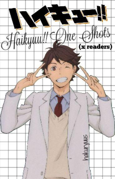 haikyuu!!: one shots (xreader's)