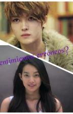 ¿SENTIMIENTOS ERRONEOS?     Kim jaejong & Hasu (tu nombre) by iriananatsu