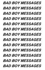 Bad Boy Messages|ziam by garotaverde