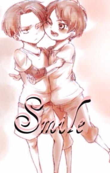 Smile {Ereri Kidfic}