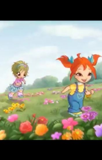 Winx club as baby's