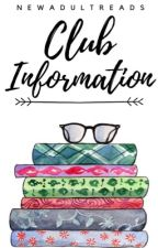 Club Information by NewAdultReads