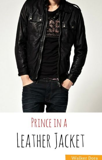 Prince in a leather jacket