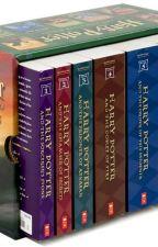 leyendo Harry Potter by hannah4265