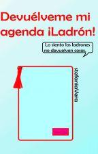 Devuélveme mi agenda ¡Ladrón! by stefania-24