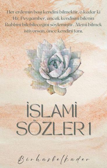 -İSLAMİ SÖZLER -