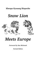 Snow Lion Faces Europe by kyosangrinpoche
