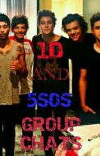 1D and 5sos group chats! by aimeea_123