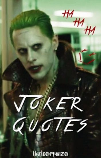 THE JOKER QUOTES ♛