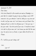 The Letter [Cake Hoodings] by moaningxcake
