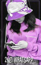 2NE1 en WhatsApp © by dokyumsmile