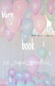 celebrity burn book by _belen_gonzalez_