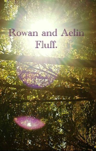 Rowan and Aelin Fluff.