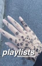 playlists ; by sad-inwonderland