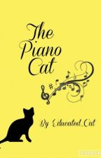 The funny cat series:The piano cat by Educated_Cat