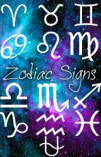 ☆ Zodiac Signs ☆ by StarStyle14