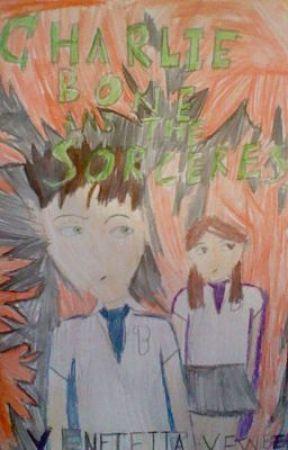 Charlie Bone & The Sorceress by Venetia_Yewbeam