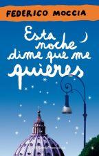 Esta Noche Dime Que me Quieres by cotemarie