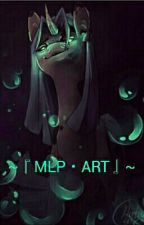 MLP ART『わたし の こうま「びじゅつ」 by Gumiku-chan