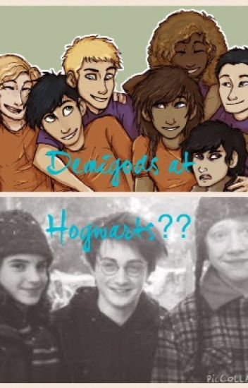 Demigods at Hogwarts??