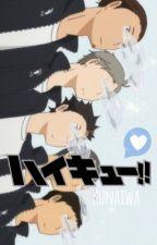 Haikyuu!! x Reader by Kunaiwa