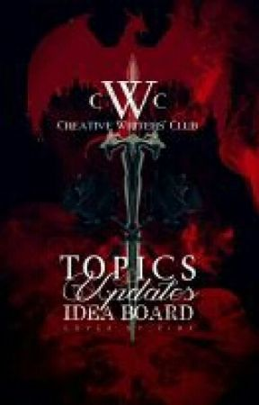 Topics, Updates, and Idea Board by STA_CWC