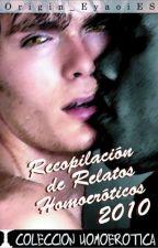 Recopilación De Cuentos Homoeróticos by AlecEryx