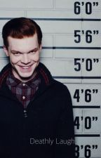 Deathly laugh. | Jerome Valeska | Gotham by kermittheipod