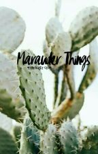 Marauder Things • Marauder Era by lookedmeintheeye