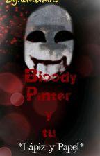 bloody painter y tu *lápiz y papel*  by tembrains