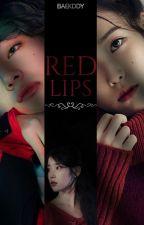 Red lips;; Kim Taehyung by Baekddy
