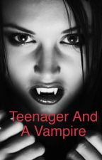 Teenager and A Vampire by HajraNaeem5