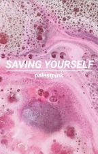 saving yourself by palestpink