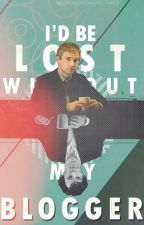 I'd Be Lost Without My Blogger (Johnlock AU) by 53_8_92_IOU