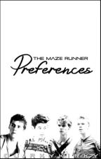 The Maze Runner Preferences by quirkykirky