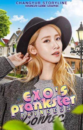 EXO's Prankster Princess  by hunchantress