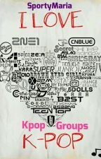 Kpop Groups by SportyMaria