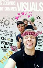 5 Seconds Of Summer Visuals » Wattys2016 by whore-ified
