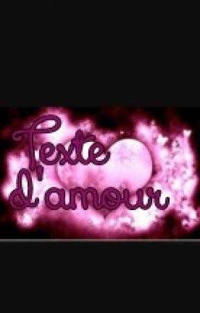 Texte Damour Mignon Wattpad