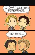 AVENGERS AND SUPERNATURAL?! by lilafromseven-a