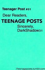 Teenage Posts by DarkShadows31