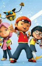 Boboiboy and Mystery Student by DiosNevan