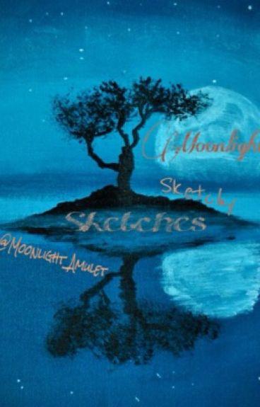 Moonlight's Sketchy Sketches [Art Book 1]