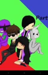 Sky,Jin,Ross and Barney meet Minecraft Diaries (CONTINUOUS) by _Kuroshi_