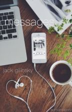 messages // j.g by tragicjack