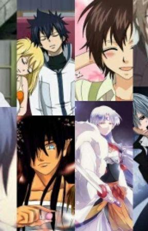 Top 10 Animes Boys I Love by AnimeSesshyLover