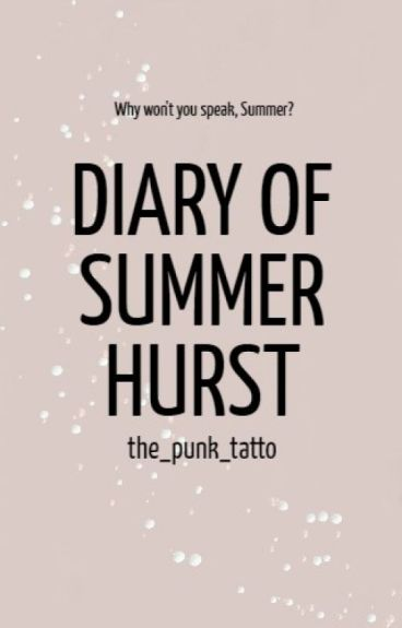 Diary of a mute freak | Wattys 2016