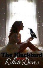 The Blackbird Among White Doves. by MizzSparkle
