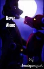 Never alone Foxy x Springtrap by Shoutgumyaoi