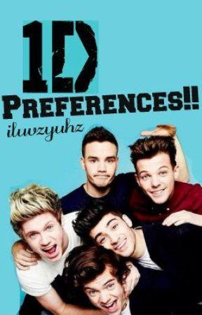 1D Preferances!! :) by iluvzyuhz